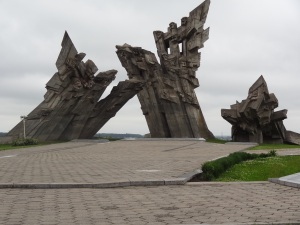 "Horrible Soviet monument dedicated to the ""Soviets"" who lost their lives"